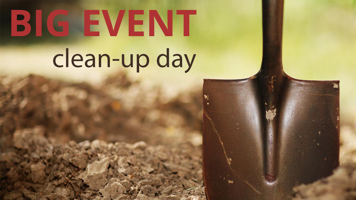 Big Event Clean-up day