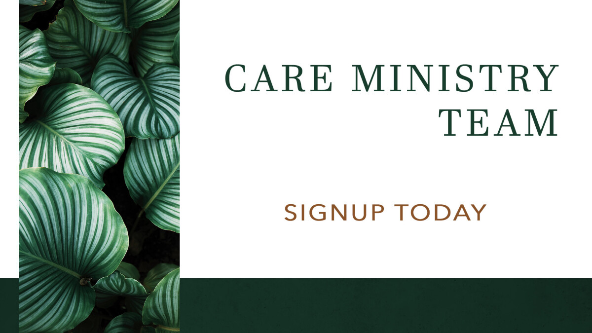 Care ministry Team